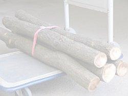 画像1: しいたけ用 未植菌原木(5本)